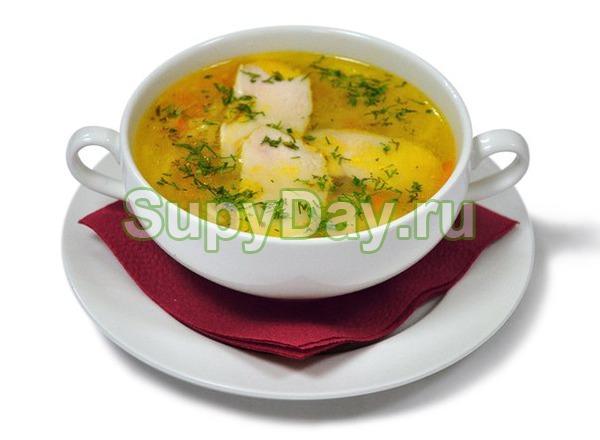 Самый простой и самый вкусный куриный суп в мультиварке