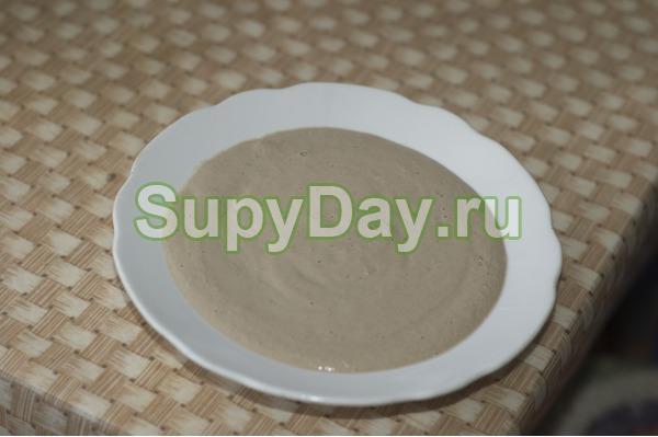 Суп простой из печени
