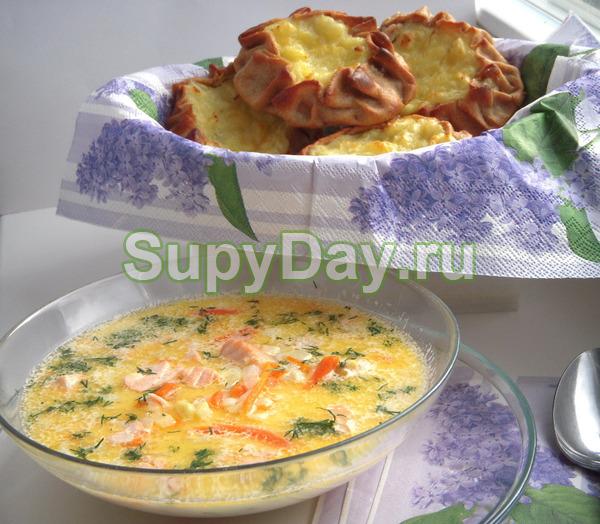 Суп из морепродуктов «Молочный»
