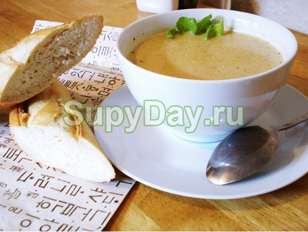 Суп пюре из печени в мультиварку