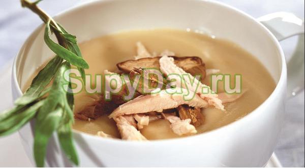 Суп - пюре куриный в мультиварке