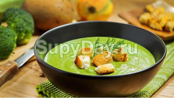Суп - пюре из шпината в мультиварке