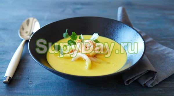 Кокосовый суп-карри