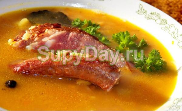 Суп из говяжьих ребер - быстрый рецепт