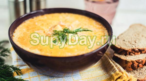 Яичный суп с помидорами