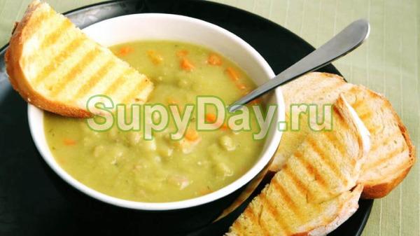 Гороховый суп по рецепту бабули