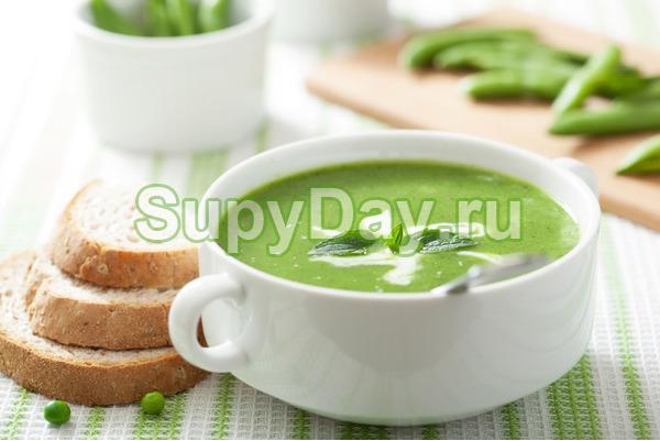 Веганский крем-суп из гороха