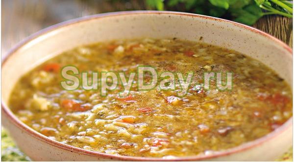 Суп харчо со сливами