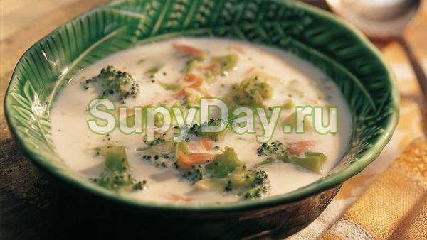 Классический сырный суп