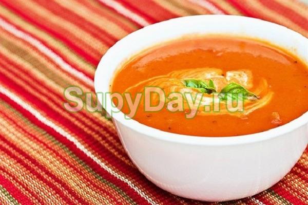 Нежный суп на молоке