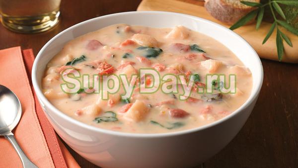 Норвежский суп из семги со сливками – традиционный рецепт